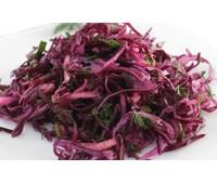 Салат из краснокачанной капусты 170 г.