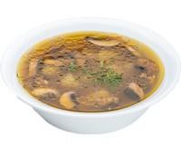 Суп грибной с баклажанами и курицей 250 г.