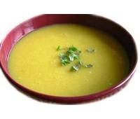 Суп-пюре гороховый с языком говяжим 250 г.