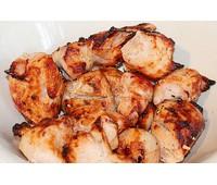 Шашлык из филе куриной грудки 1кг
