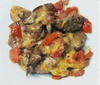 Печень куриная по-итальянски с сыром 150 г.