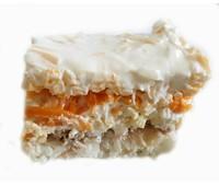 """Салат """"Неженка"""" (краб. пал, картоф, морк, яйцо, сыр, майон, укроп) 140гр"""