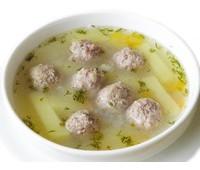 Суп картофельный с фрикадельками 250 г.
