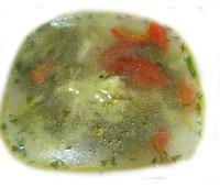 Суп овощной с куриной грудкой 250 г.