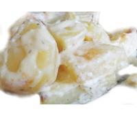 Картофель тушеный в сметане 200 г.