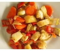 Кабачки тушеные с овощами 200 г.